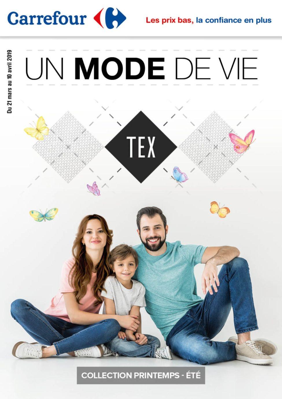 Catalogue TEX Carrefour Maroc du 21 Mars au 10 Avril 2019