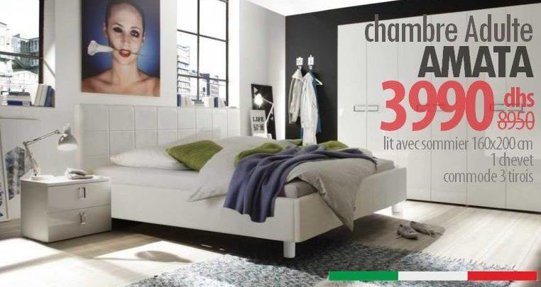 Photo of Soldes Azura Home Chambre complète AMATA 3990Dhs au lieu de 8950Dhs