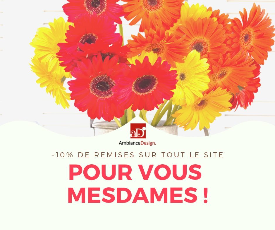 Promo Ambiance Design -10% Jusqu'au 21 Mars 2019