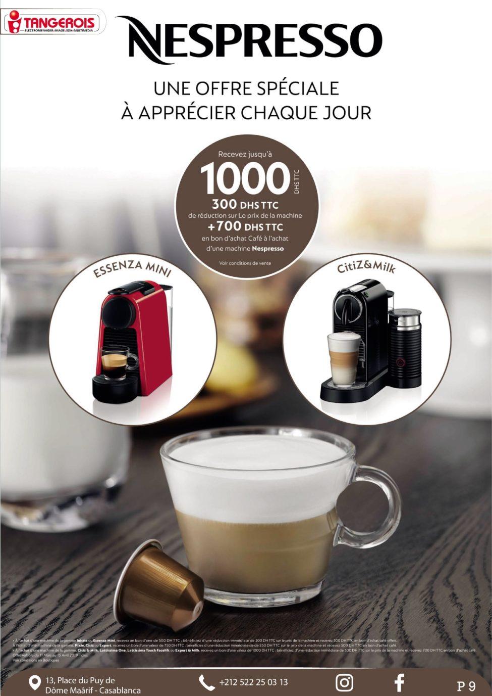 Catalogue Tangerois Spécial Anniversaire Jusqu'au 30 Avril 2019