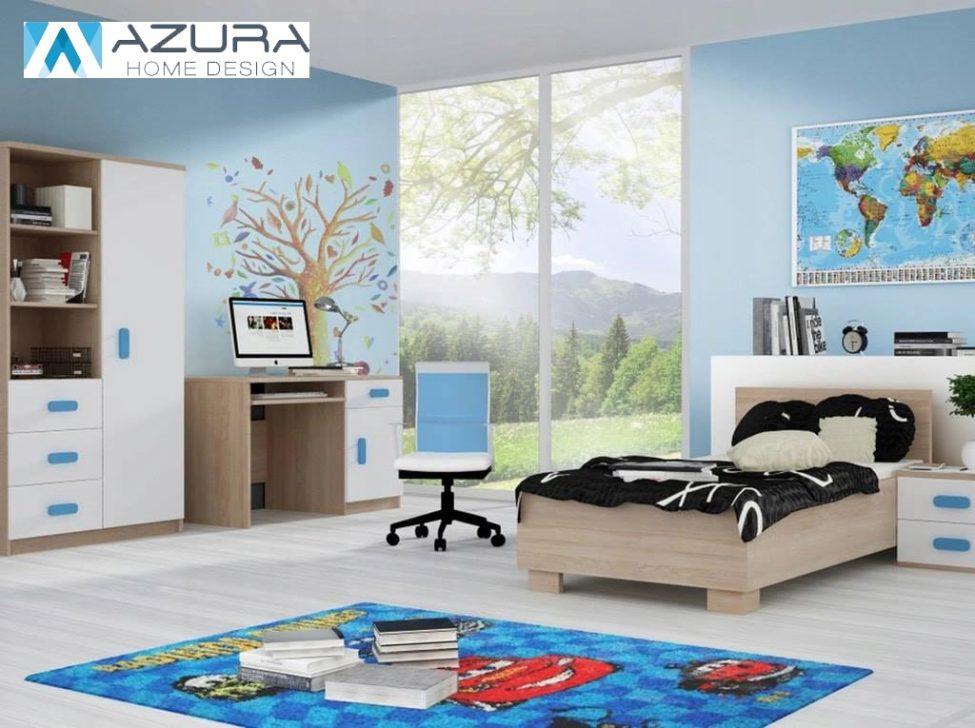 Soldes Azura Home CHAMBRE ENFANT COMPLÈTE ARIBA 5990Dhs au lieu de 7990Dhs