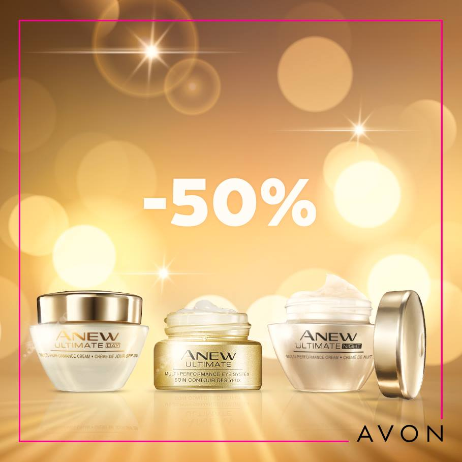 Promo Avon Maroc 50% sur toute la gamme ANEW