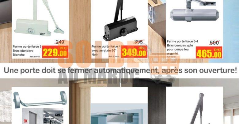 Promo Bricoma Fermes-portes à petit prix