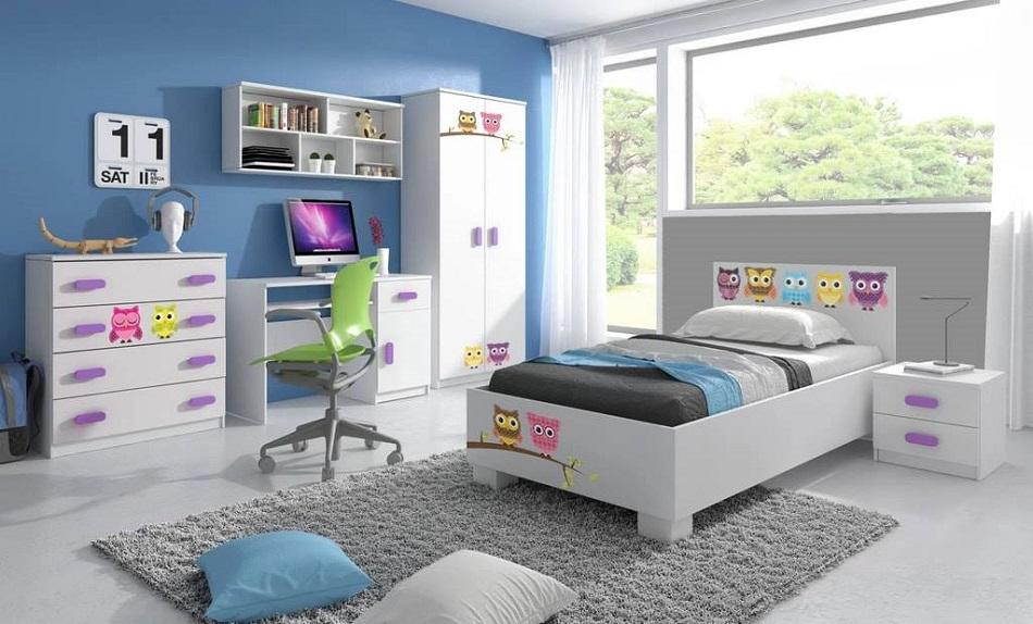 Soldes Azura Home CHAMBRE ENFANT COMPLETE VIVA 8990Dhs au lieu de 9990Dhs