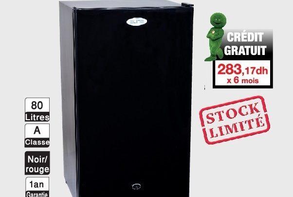 Soldes Aswak Assalam Réfrigérateur ELITE Mini bar 1699Dhs au lieu de 1999Dhs