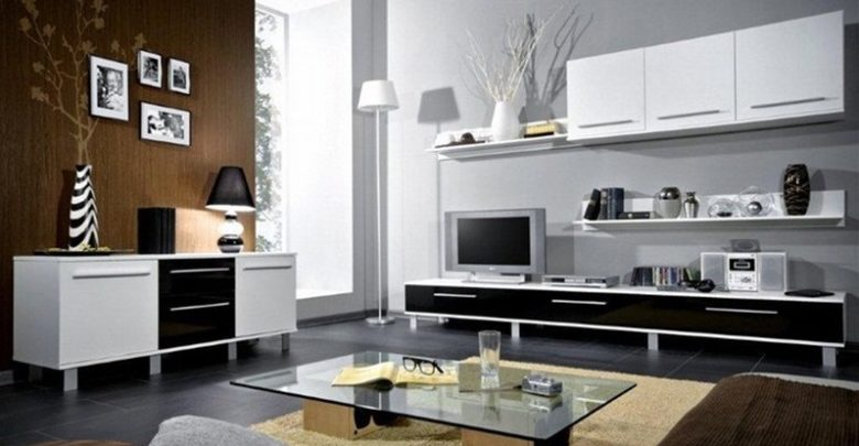 Photo of Soldes Azura Home Ensemble meuble TV MONACO 270cm 1990Dhs au lieu de 3990Dhs