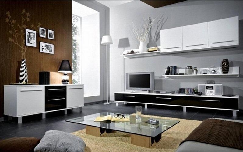 Soldes Azura Home Ensemble meuble TV MONACO 270cm 1990Dhs au lieu de 3990Dhs