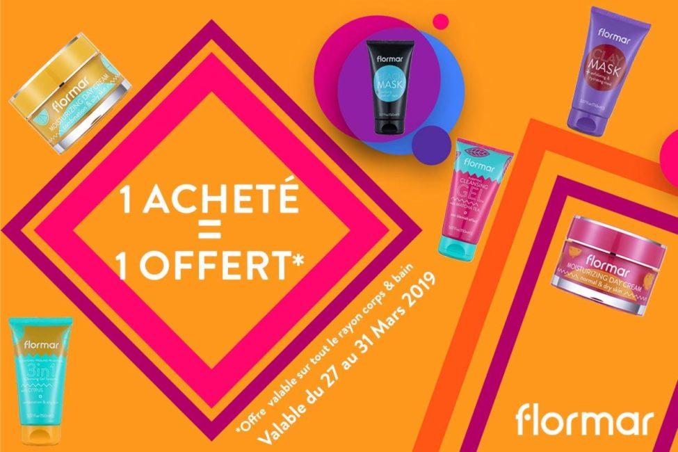 Offre Spéciale Flormar Maroc 1 Acheté = 1 Offert Jusqu'au 31 Mars 2019