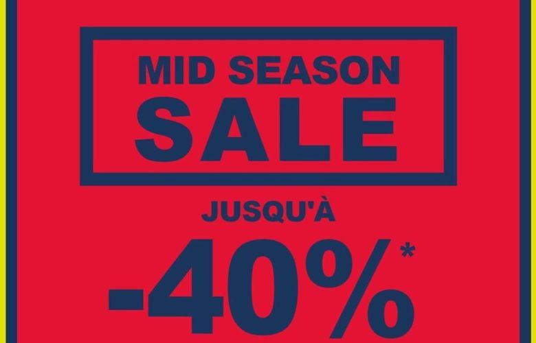 Soldes de mi-saison chez Gap Maroc Jusqu'à -40% du 28 Mars au 7 Avril 2019