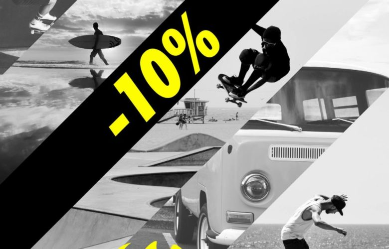 Promo Gotcha Maroc -10 sur toute la nouvelle collection