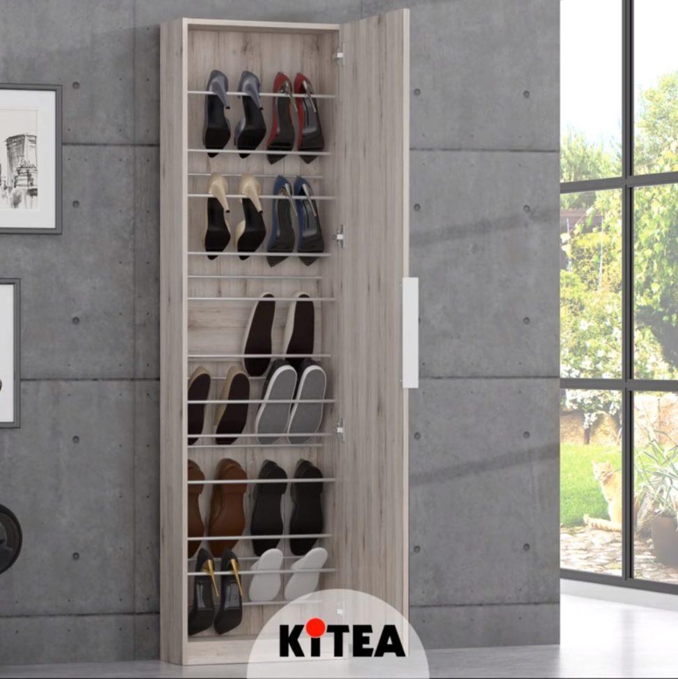 Promo Kitea Meuble de chaussures CALMA 1190Dhs au lieu de 1450Dhs