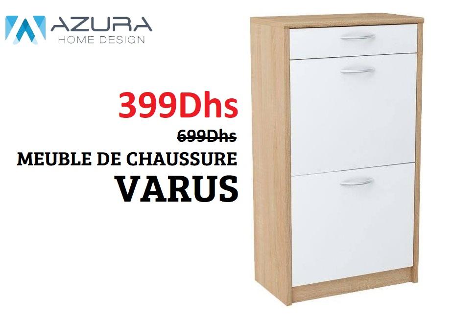 Soldes Azura Home MEUBLE DE CHAUSSURE VARUS 399Dhs au lieu de 699Dhs