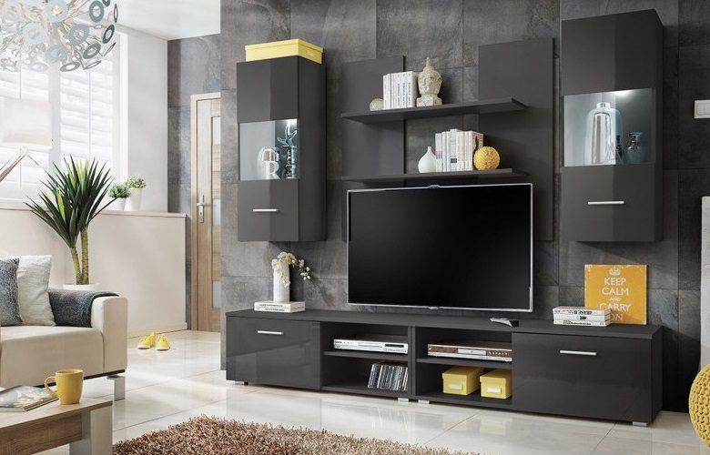 Soldes Azura Home Meuble TV SPARKO 220 CM 2990Dhs au lieu de 3990Dhs