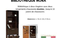 Promo CCMBuro Bibliothèque NORA 890Dhs au lieu de 390Dhs