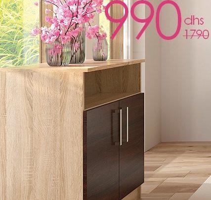 Photo of Soldes Azura Home Commode RENNES 990Dhs au lieu de 1790Dhs
