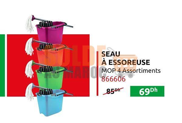 Photo of Promo Mr Bricolage Maroc Seau à Essoreuse 69Dhs au lieu de 85Dhs