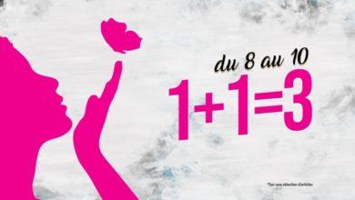 Promo Sport Zone Maroc Woman Day 1+1=3 Jusqu'au 10 Mars 2019