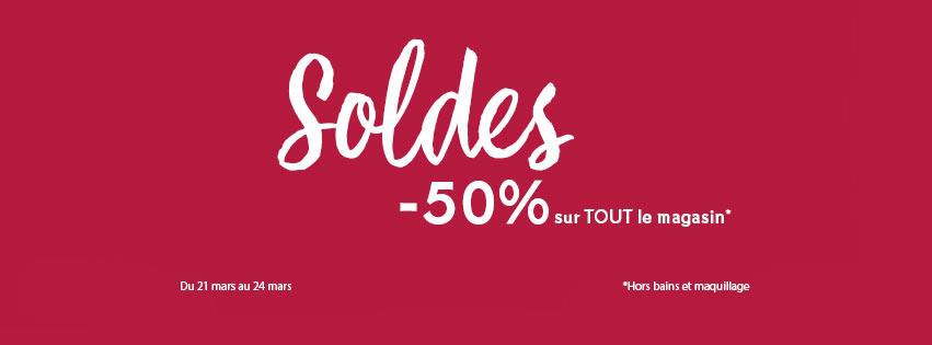 Soldes Yves Rocher Maroc -50% sur tout le magasin* du 21 au 24 Mars 2019