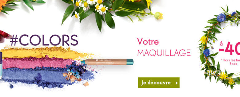 Soldes Mars 2019 Yves Rocher Maroc Votre maquillage à -40%