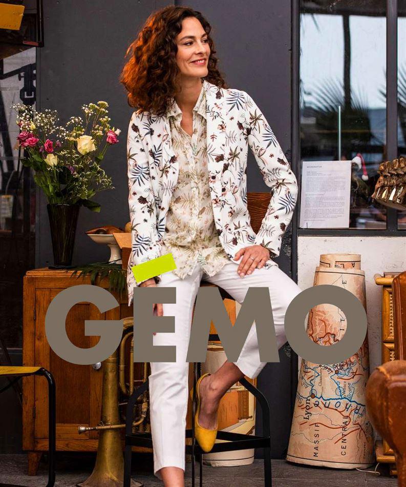 Lookbook Gémo Maroc Chemises & Blouses du 30 Avril au 6 Juillet 2019