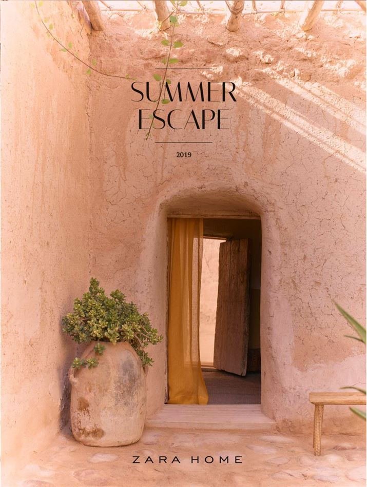 Lookbook Zara Home Maroc Summer Scape du 24 Avril au 20 Mai 2019