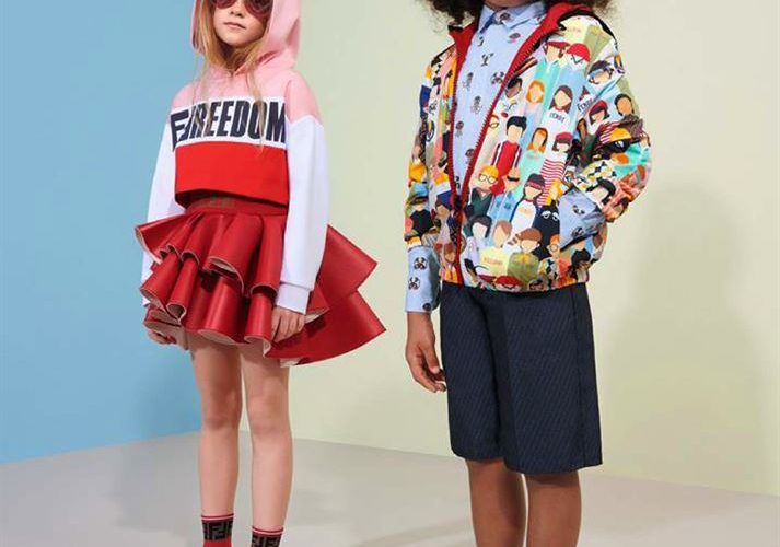 Lookbook FENDI Maroc Kid's Collection du 14 Avril au 20 Mai 2019