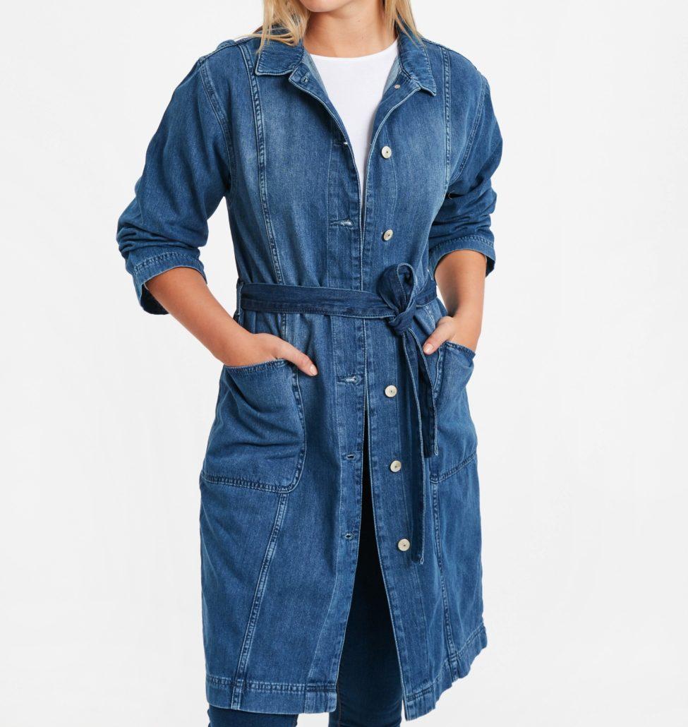 Soldes Lc Waikiki Maroc Tunique femme jeans 179Dhs au lieu de 359Dhs
