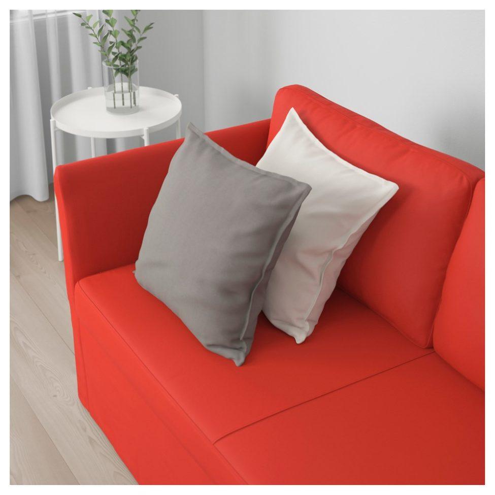 Soldes Ikea Maroc Canapé 3 places BRÅTHULT Vissle rouge/orange 3495Dhs au lieu de 4025Dhs