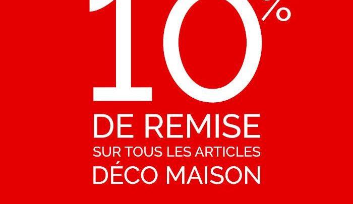 Photo of Offre Spéciale d'ouverture Déco Maison Virgin Megastore Maroc -10% sur tous le magasin