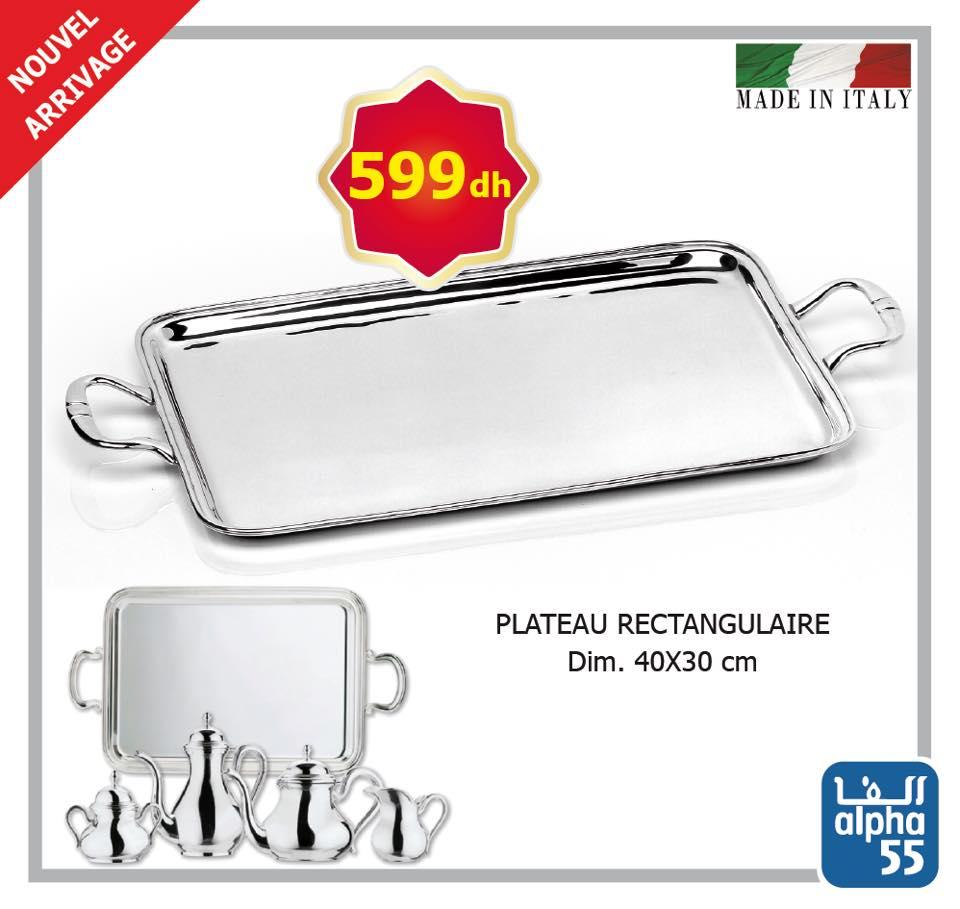 Nouvel arrivage d'argenterie de lux made in Italy chez Alpha55