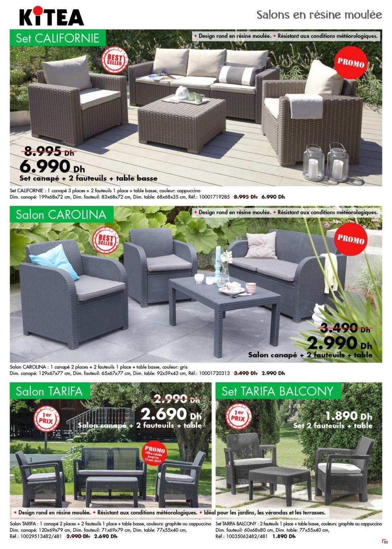 Catalogue Kitea Nouvelle collection mobilier d'extérieur 2019