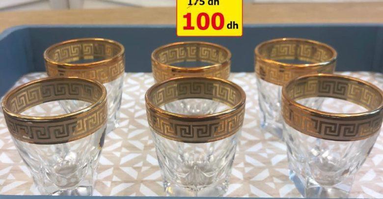 Photo of Promo Alpha55 magnifiques verres en cristal made in Italy à partir de 100Dhs