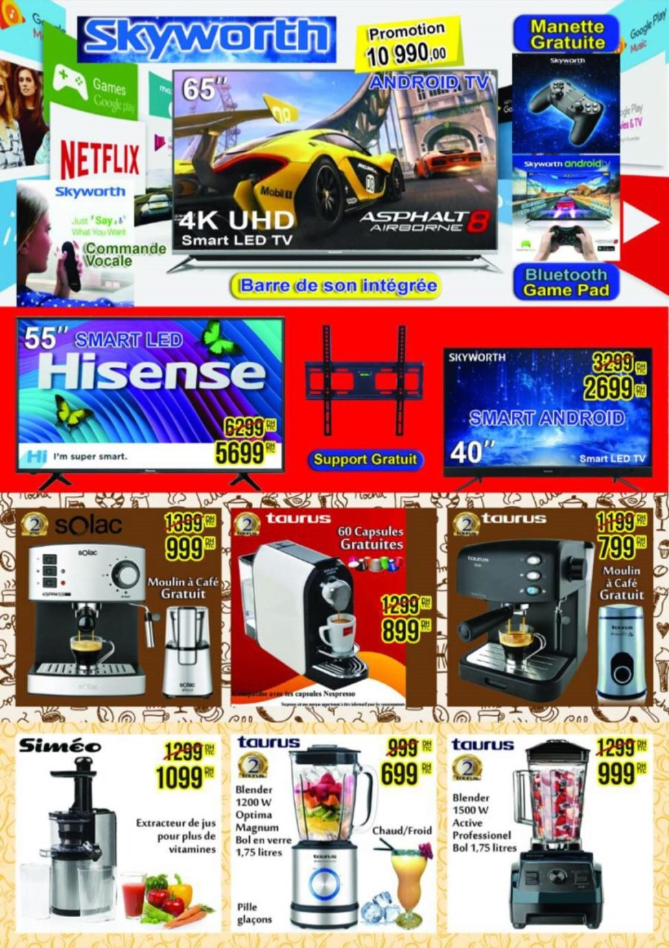 Catalogue Electro Mall Fes Spéciale Ramadan du 27 Avril au 10 Juin 2019