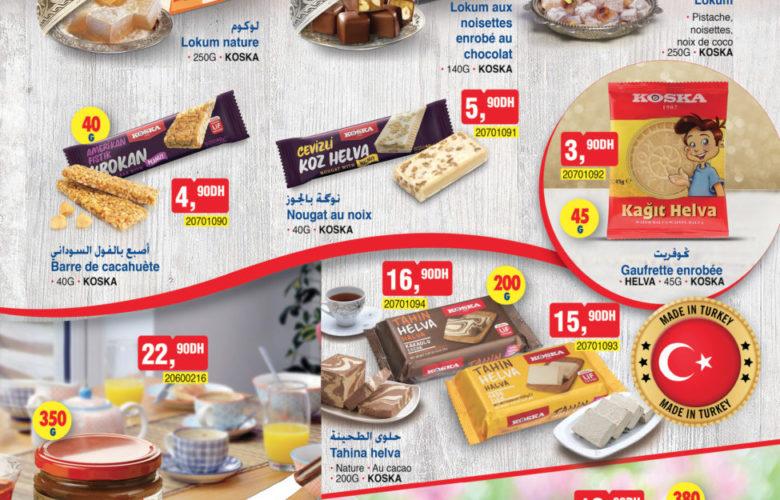 Catalogue Bim Maroc Spéciale Alimentaires du Mardi 30 Avril 2019