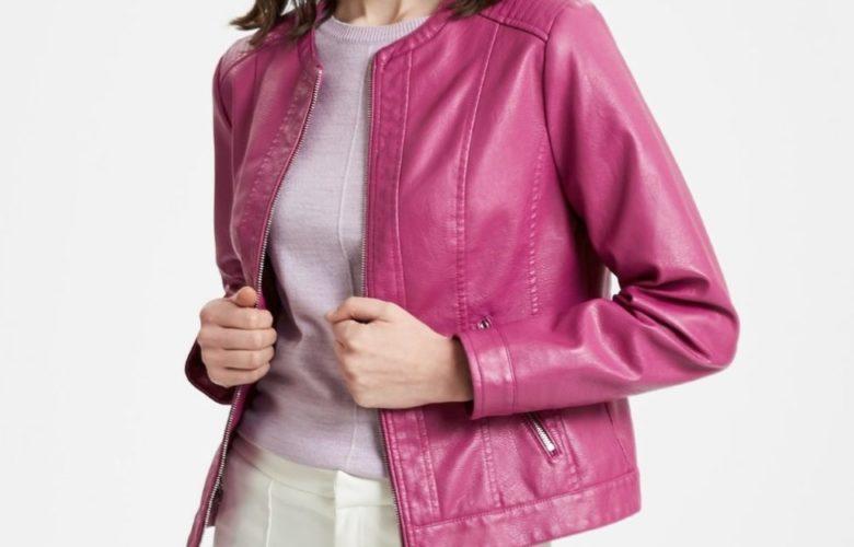 Soldes Lc Waikiki Maroc Jacket femme rose 149Dhs au lieu de 289Dhs
