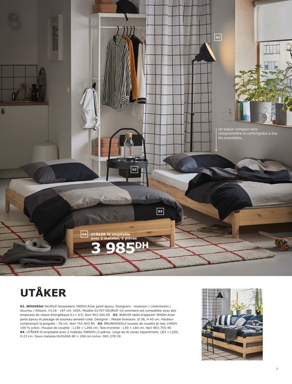 Incroyable Catalogue Ikea Maroc Spéciale Chambres à Coucher 2019