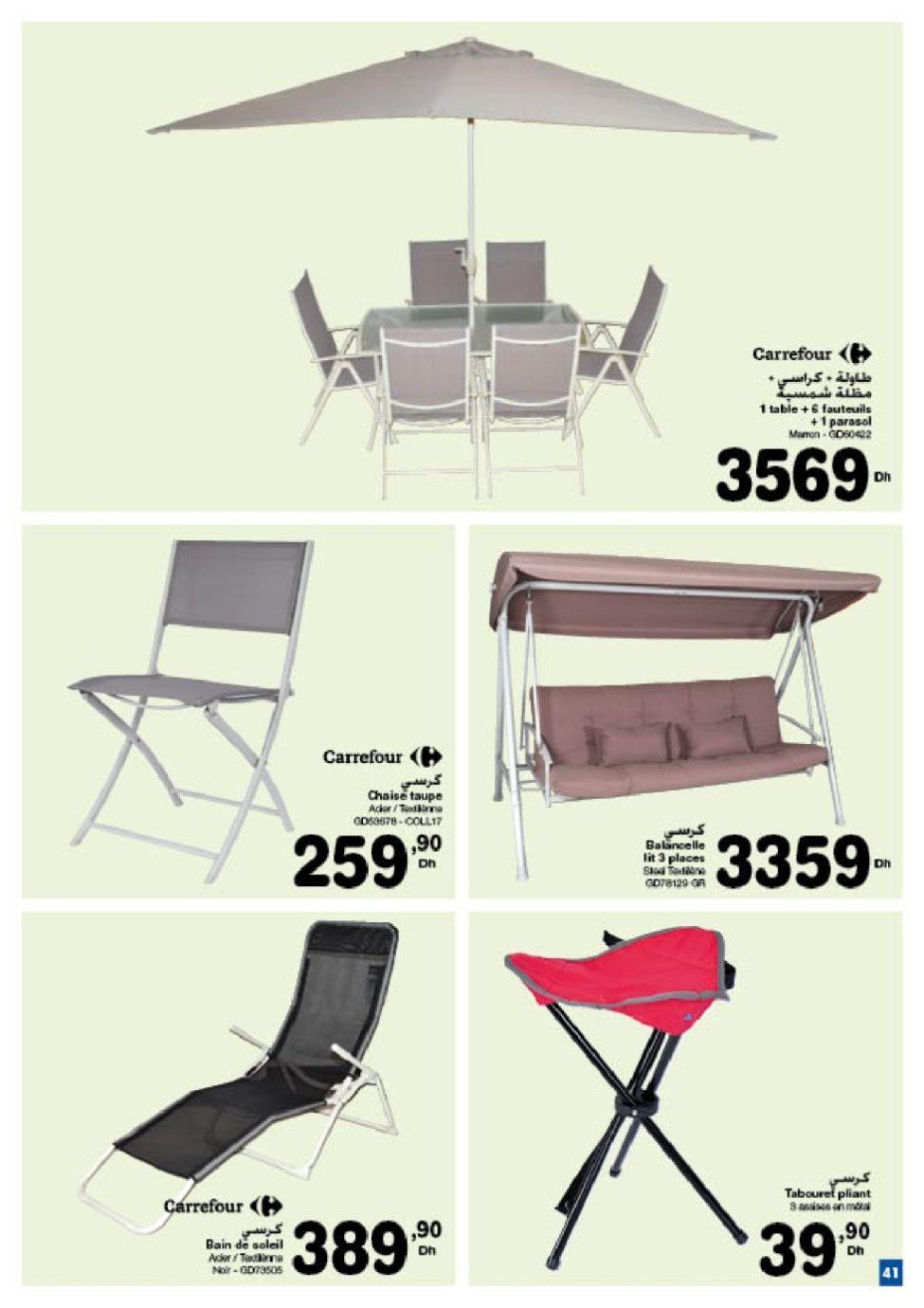 Catalogue Carrefour Maroc عواشر مباركة du 6 Avril au 6 Mai 2069