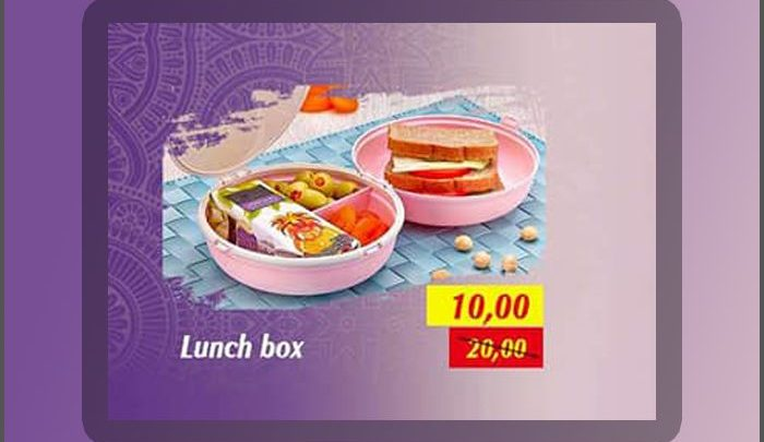 Photo of Promo Saga Cuisine Lunch Box 10Dhs au lieu de 20Dhs Jusqu'au 5 Mai 2019
