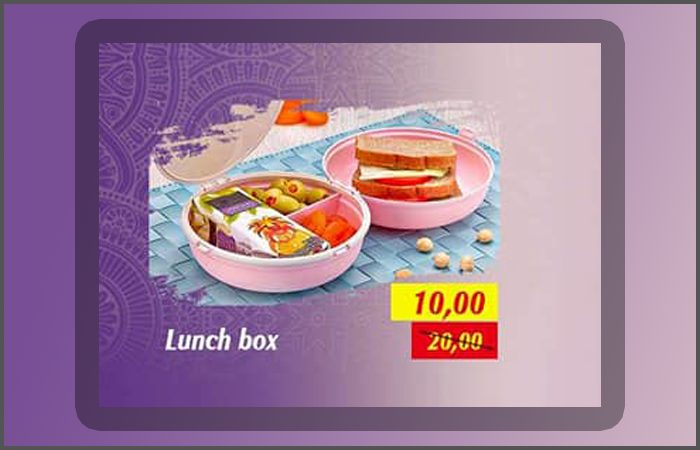 Promo Saga Cuisine Lunch Box 10Dhs au lieu de 20Dhs Jusqu'au 5 Mai 2019