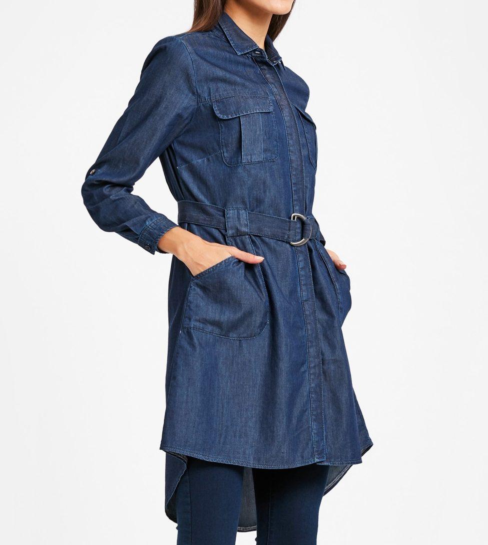 Soldes Lc Waikiki Maroc Tunique femme en jeans 239Dhs au lieu de 319Dhs