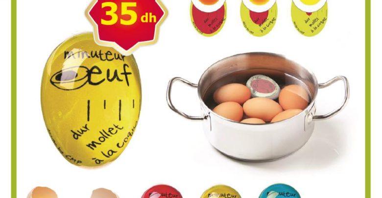 Promo Alpha55 Minuteur cuisson d'œuf 35Dhs