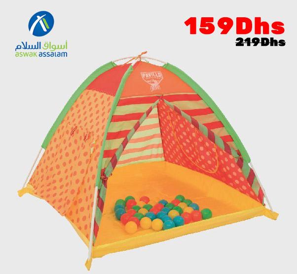 Soldes Aswak Assalam Playland + 40balles 159Dhs au lieu de 219Dhs