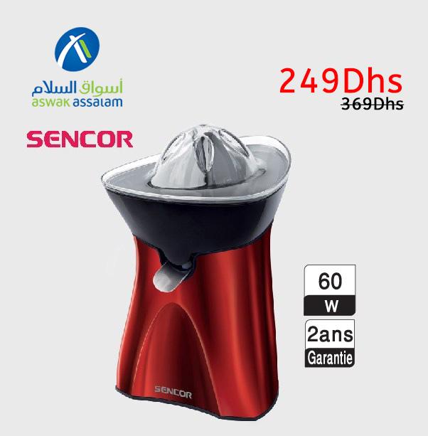 Soldes Aswak Assalam PRESSE-AGRUMES SENCOR 249Dhs au lieu de 369Dhs