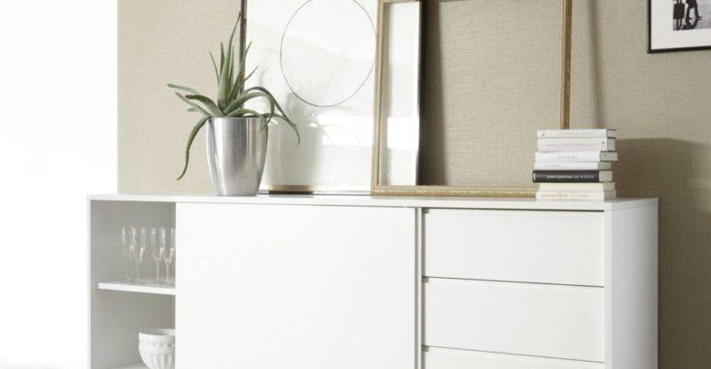 Soldes Azura Home Buffet MELINIA 206cm 2725Dhs au lieu de 3990Dhs