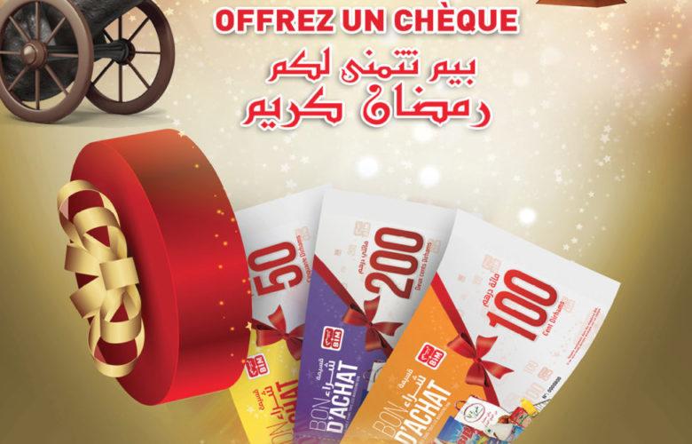 Offrez un bon d'achat chez Bim Maroc Offre GÉNÉREUX