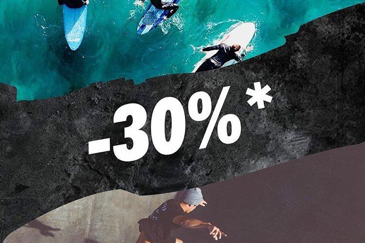 Promo GOTCHA Maroc DAYS 30% de remise sur le deuxième article