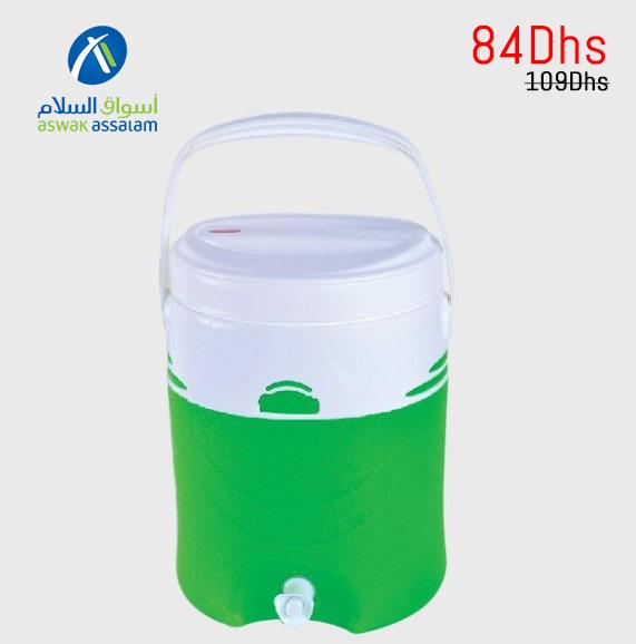 Soldes Aswak Assalam FONTAINE ISOTHERME 12L 84Dhs au lieu de 109Dhs