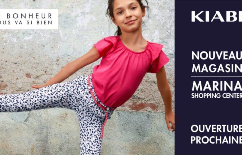 Ouverture prochaine Kiabi Marina Casablanca Shopping Center le 17 Avril 2019