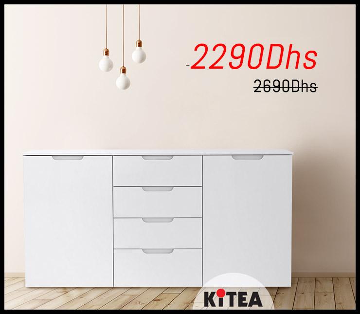 Promo Kitea Commode Gamme SIENA 2290Dhs au lieu de 2690Dhs