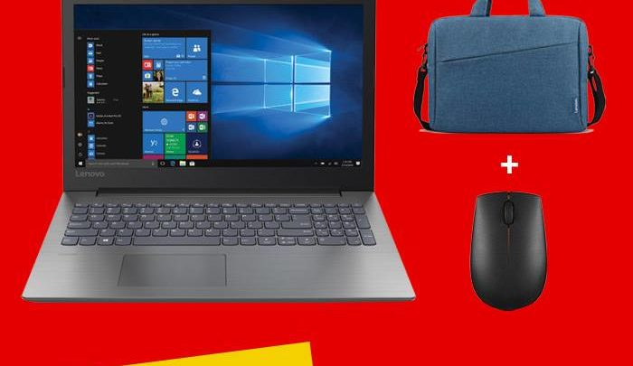 Photo of Promo Virgin Megastore Marina Laptop Lenovo Ideapad 330 + Sacoche + souris sans fils 2999Dhs au lieu 3500Dhs